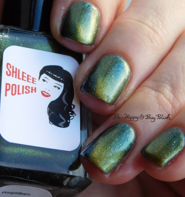 Shleee Polish Reptilian magnetic nail polish | Be Happy And Buy Polish