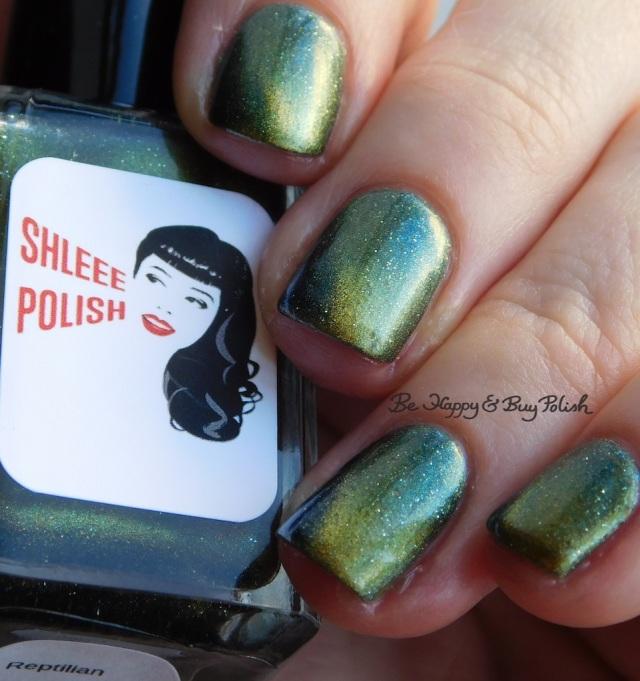 Shleee Polish Reptilian magnetic nail polish | Be Happy And Buy Polish