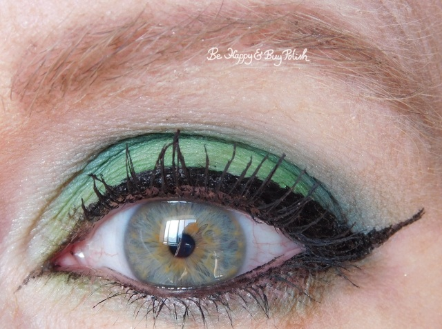 eye makeup with Bio-Exorcist, Betelgeuse, Afterlife from Hot Topic Handbook for the Recently Deceased   Be Happy And Buy Polish