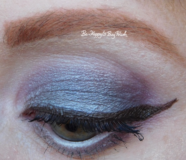 eye makeup with Darkroom, It's Showtime, Sandworm, Strange and Unusual from Hot Topic Handbook for the Recently Deceased eyeshadow palette closeup | Be Happy And Buy Polish