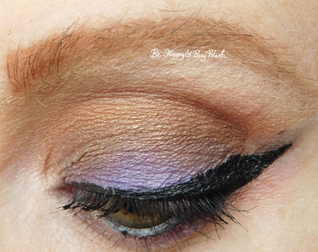 eye makeup with Lydia, Dante's Inferno, Juno from Hot Topic Handbook for the Recently Deceased closeup | Be Happy And Buy Polish