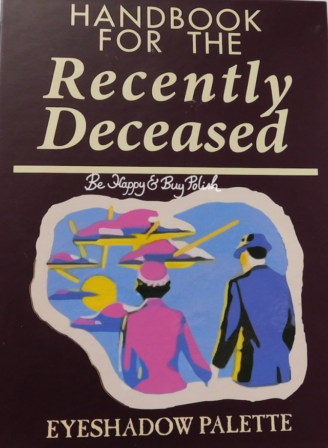 Hot Topic Handbook for the Recently Deceased eyeshadow palette | Be Happy And Buy Polish