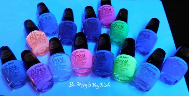 L.A. Colors Glows Color Craze nail polish collection | Be Happy And Buy Polish