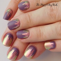 Paint Drip Manicure with P.O.P Polish and Sinful Colors