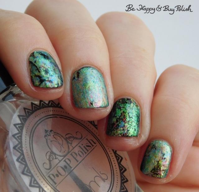 POP Polish Pastel Oil Slick 360 oil slick nail art manicure | Be Happy And Buy Polish