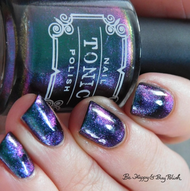 Tonic Polish Mirabilis magnetic nail polish close up | Be Happy And Buy Polish