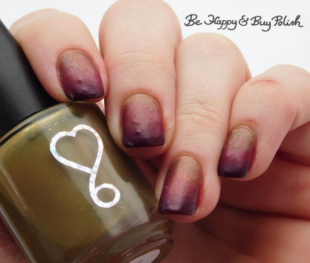 6 Harts Life from Destruction, Disorder, Chaos, L.A. Colors Radio Active, Hot Topic Blackheart Beauty Deepest Red zombie nails | Be Happy And Buy Polish