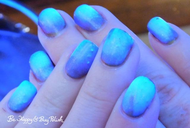 blacklight zombie nails with 6 Harts, Hot Topic Blackheart Beauty, L.A. Colors | Be Happy And Buy Polish