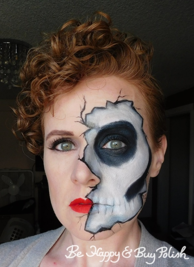 cracked skeleton makeup | Be Happy And Buy Polish