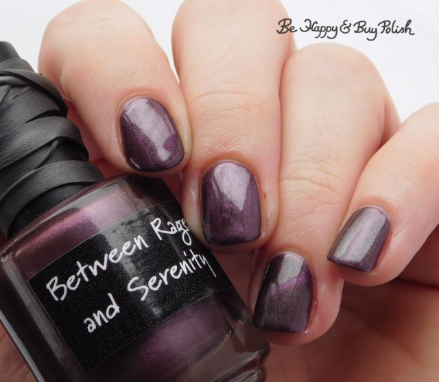 CrowsToes Nail Color Between Rage and Serenity magnetized November Polish Pickup Pack | Be Happy And Buy Polish
