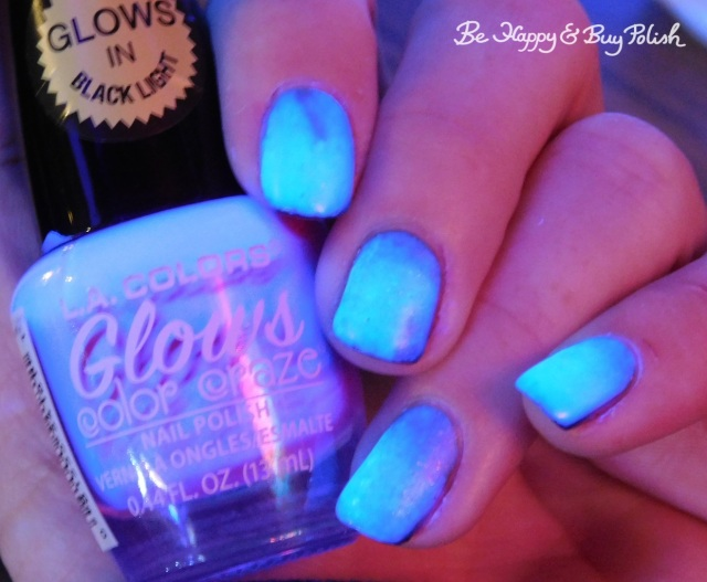 L.A. Colors Glows Radio Active, Hot Topic Blackheart Beauty Deepest Red, 6 Harts Life from Destruction, Disorder, Chaos zombie nails | Be Happy And Buy Polish