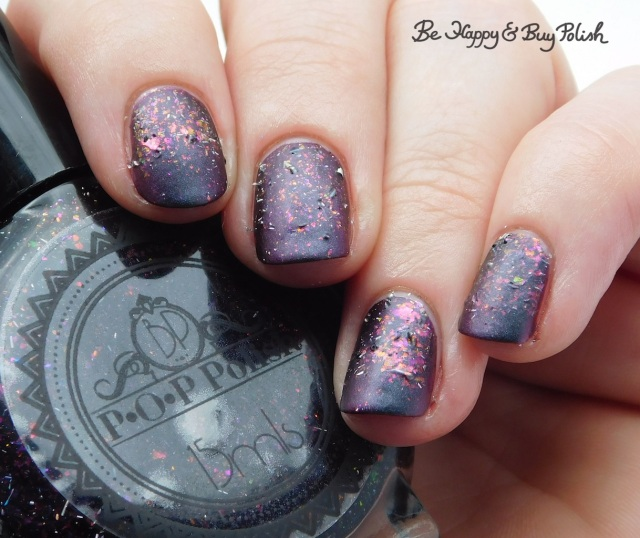 P.O.P Polish Scared Slick and Eye of Newt gradient | Be Happy And Buy Polish
