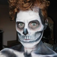 Skeleton Makeup with Wet N Wild Fantasy Makers