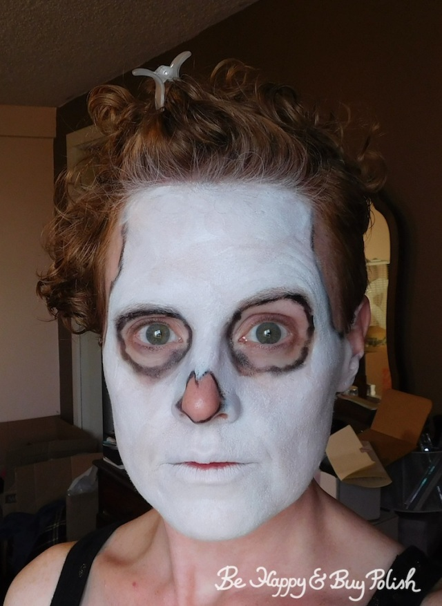 transition for skeleton makeup | Be Happy And Buy Polish