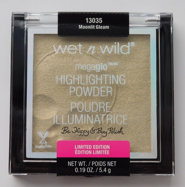 Wet N Wild Megaglo Highlighting Powder Moonlit Gleam | Be Happy And Buy Polish