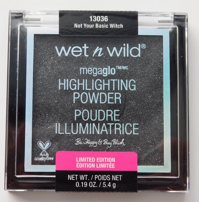 Wet N Wild Megaglo Highlighting Powder Not Your Basic Witch | Be Happy And Buy Polish