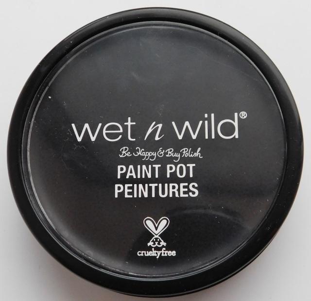 Wet N Wild Paint Pot Black | Be Happy And Buy Polish