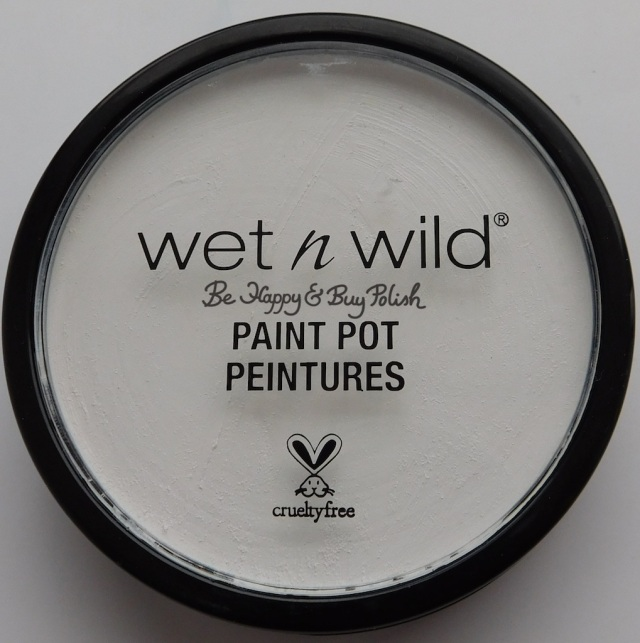 Wet N Wild Paint Pot White | Be Happy And Buy Polish