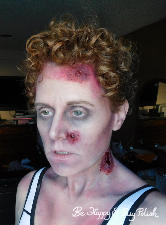 zombie makeup with bloody wounds | Be Happy And Buy Polish