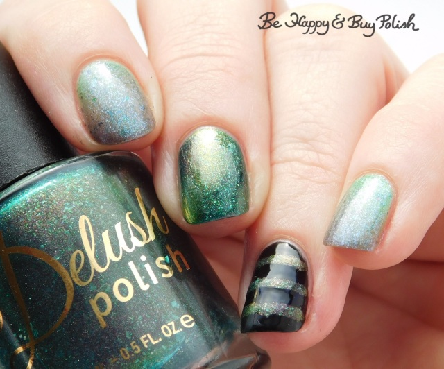 Delush Polish Want To Play A Game, Night Owl Lacquer I've Spent So Long in the Darkness, L.A. Colors Circuits | Be Happy And Buy Polish