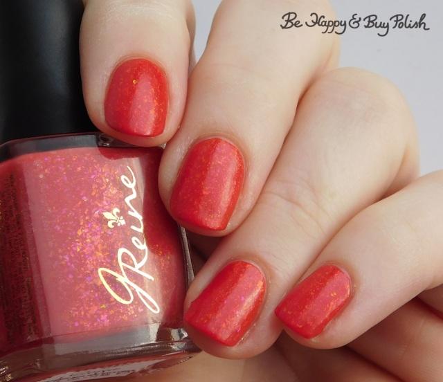 JReine Cosmetics Hiya Georgie thermal nail polish cold state | Be Happy And Buy Polish