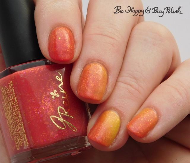 JReine Cosmetics Hiya Georgie thermal nail polish transition state | Be Happy And Buy Polish