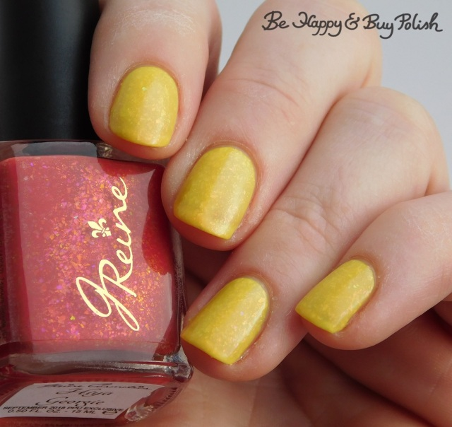 JReine Cosmetics Hiya Georgie thermal nail polish warm state | Be Happy And Buy Polish