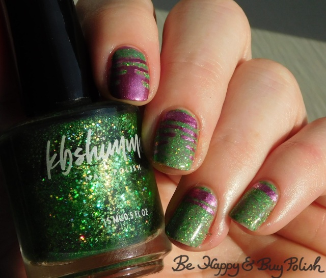 KBShimmer Resting Witch Face thermal nail polish, L.A. Colors Cosmic Pink   Be Happy And Buy Polish