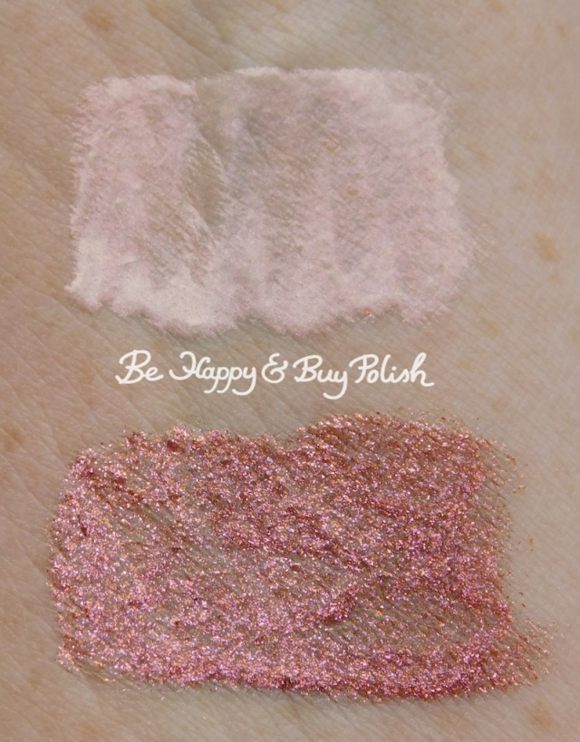 Wet N Wild coloricon gloss cancer and capricorn swatches | Be Happy And Buy Polish