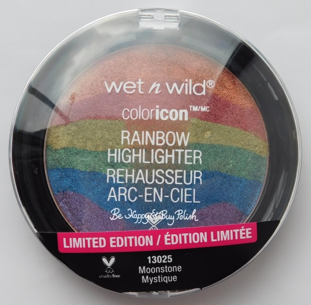 Wet N Wild coloricon Rainbow Highlighter Moonstone Mystique | Be Happy And Buy Polish