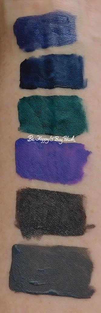 Wet N Wild Liquid Catsuit Halloween limited edition swatches | Be Happy And Buy Polish