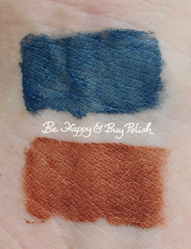 Wet N Wild Liquid Catsuit Icing on the Walls, Queen's Blood swatches | Be Happy And Buy Polish