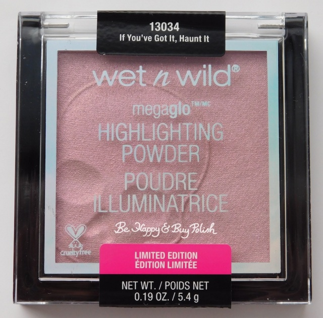 Wet N Wild Megaglo Highlighting Powder If You've Got It Haunt It! | Be Happy And Buy Polish