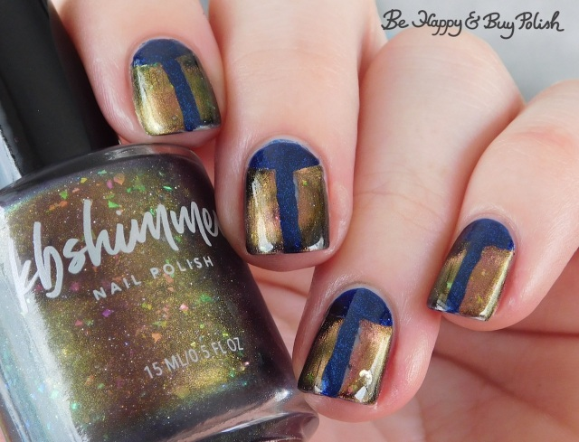 KBShimmer Creep It Together magnetic nail polish, Hot Topic Blackheart Beauty Divine Elements Water beetle manicure | Be Happy And Buy Polish
