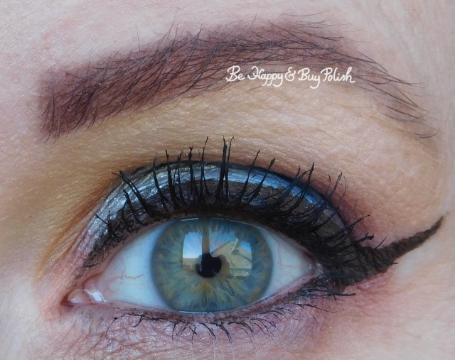 blue eyeshadow look with Urban Decay, Sanguis Draconis, Makeup Revolution, Coastal Scents | Be Happy And Buy Polish