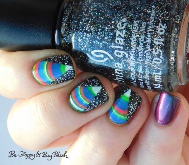 China Glaze Night and Slay, P.O.P Polish Scared Slick, L.A. Colors Ultra Violet, Nuclear, Gleaming, Energy, Fluorescent, Radiation | Be Happy And Buy Polish