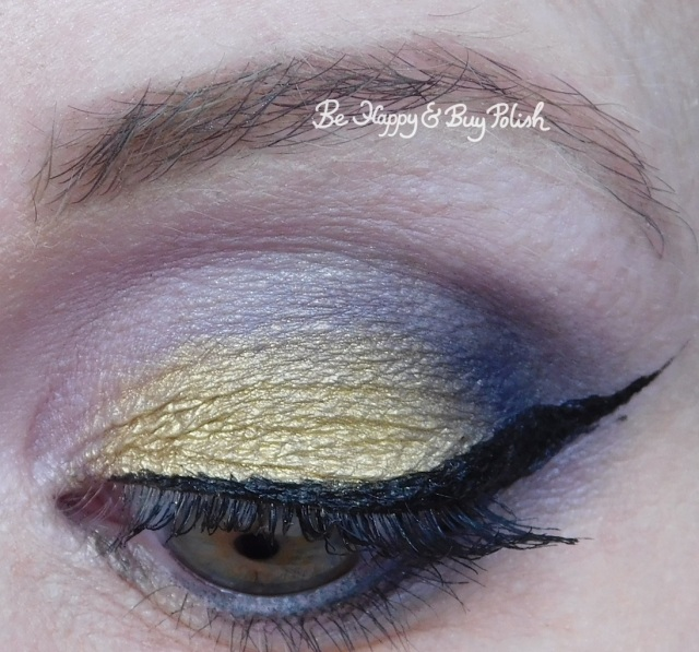 eyeshadow look with Urban Decay Vice Palette, Saucebox Cosmetics close up | Be Happy And Buy Polish