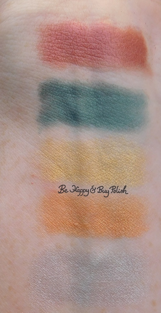 Hot Topic Sanguis Draconis eyeshadow palette swatches | Be Happy And Buy Polish