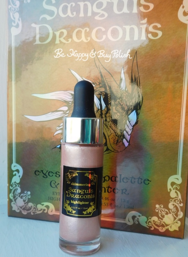 Hot Topic Sanguis Draconis highlighter | Be Happy And Buy Polish