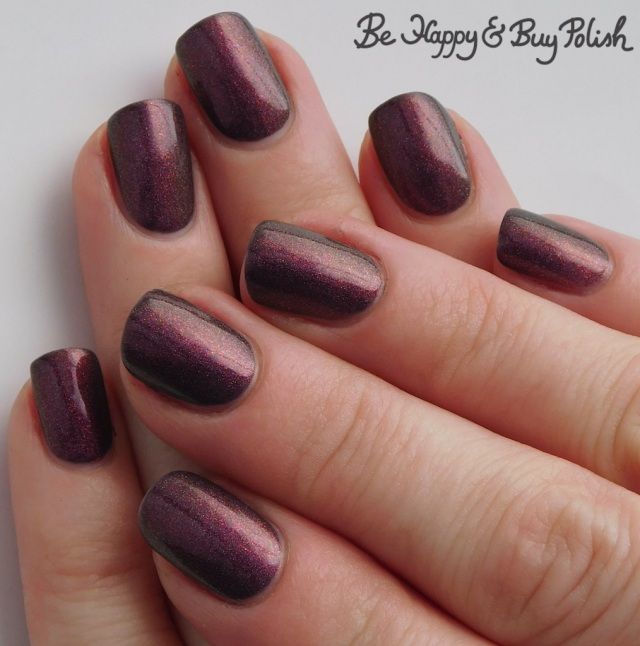 Polish 'M Snowed In thermal polish cold state full manicure | Be Happy And Buy Polish
