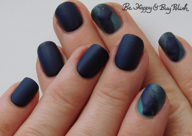 thermal veil nail manicure with KBShimmer and L.A. Colors | Be Happy And Buy Polish