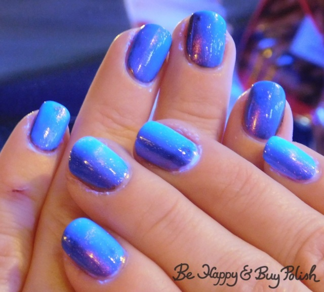 blacklight magnetic manicure with heather's hues revenge september 2018 ppu | Be Happy And Buy Polish