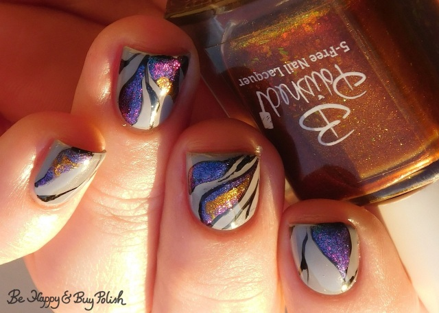 bpolished jellicle queens, kbshimmer space-ial edition, l.a. colors blankie, tonic polish mirabilis magnetic abstract manicure | Be Happy And Buy Polish