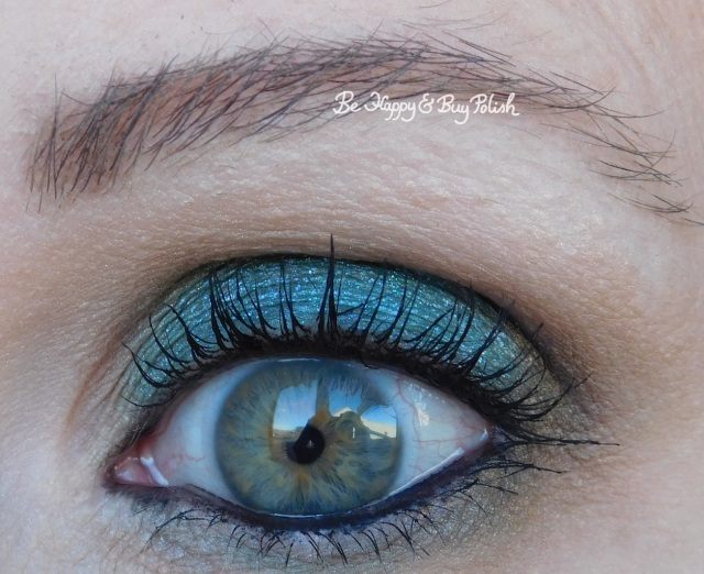 eyeshadow look with glamour doll eyes debauchery and makeup revolution fortune favours the brave   Be Happy And Buy Polish