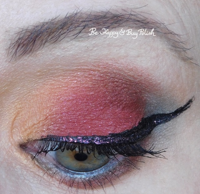 eyeshadow look with glamour doll eyes madhouse mona, eyeshadow look with gde madhouse mona, makeup revolution fortune favors the brave, handbook for the recently deceased, elf gl | Be Happy And Buy Polish