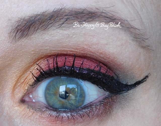 eyeshadow look with glamour doll eyes madhouse mona, eyeshadow look with gde madhouse mona, makeup revolution fortune favors the brave, handbook for the recently deceased | Be Happy And Buy Polish