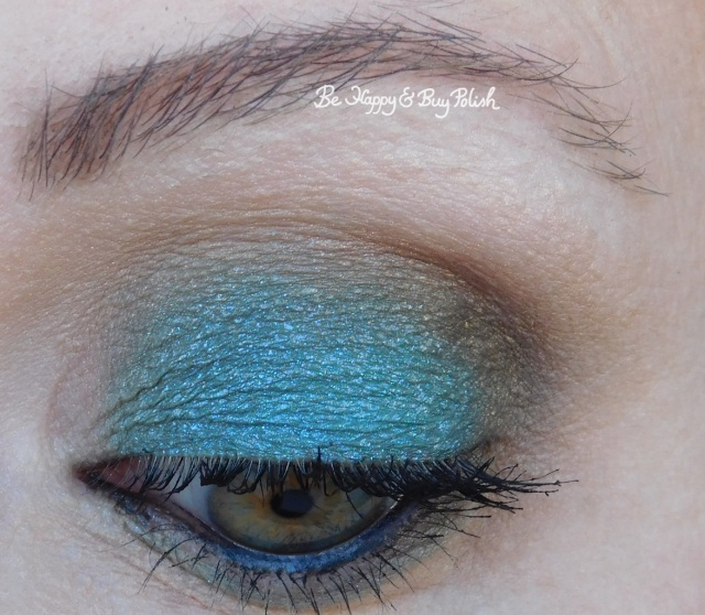 eyeshadow look with makeup revolution fortune favours the brave, glamour doll eyes debauchery | Be Happy And Buy Polish