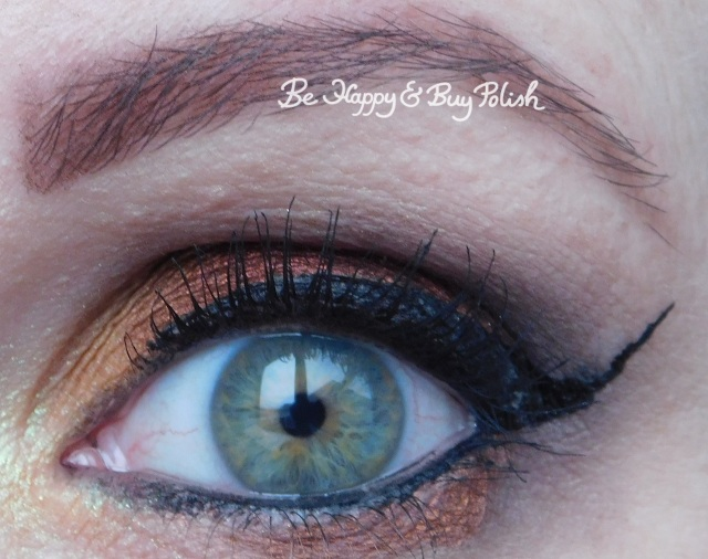 eyeshadow makeup look with notoriously morbid desire | Be Happy And Buy Polish
