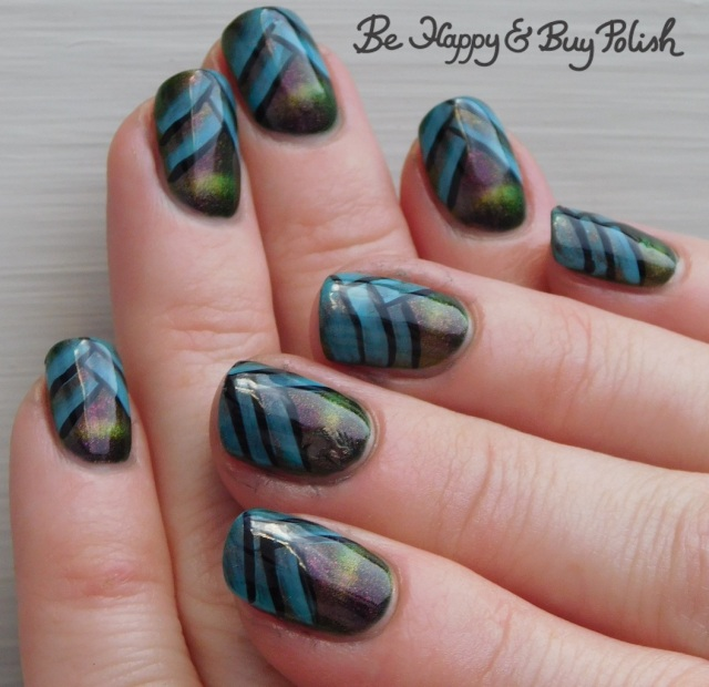 fishtail braid manicure with quixotic polish another glorious morning september 2018 polish pickup pack, l.a. colors glows lucent | Be Happy And Buy Polish