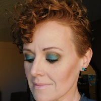 Makeup look with Glamour Doll Eyes Debauchery